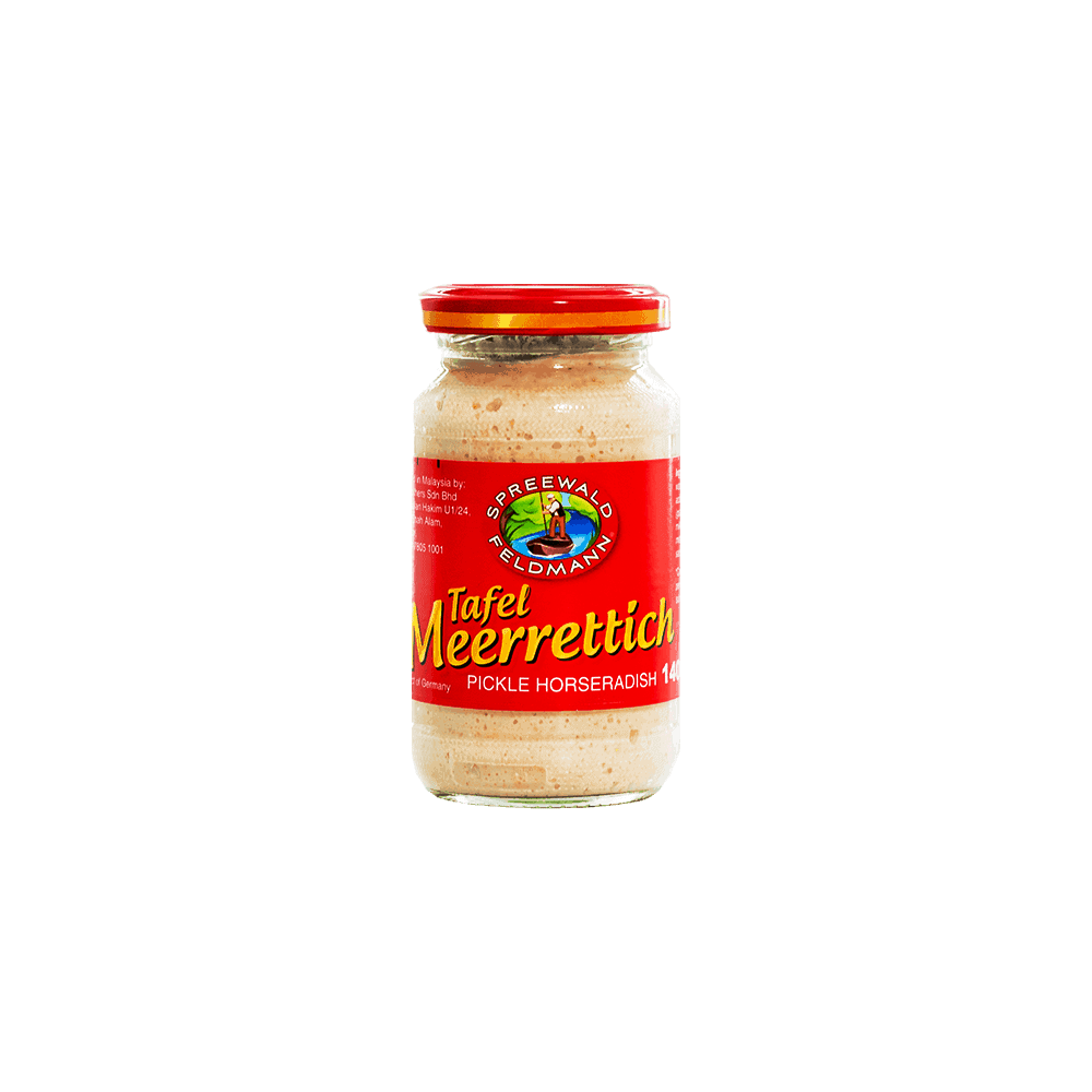 Spreewald Feldmann Horseradish Sauce 140g Essentials Impossibly Good Ingredients