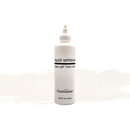 Chefmaster Liqua-gel Food Coloring (Liquid Whitener) 453g