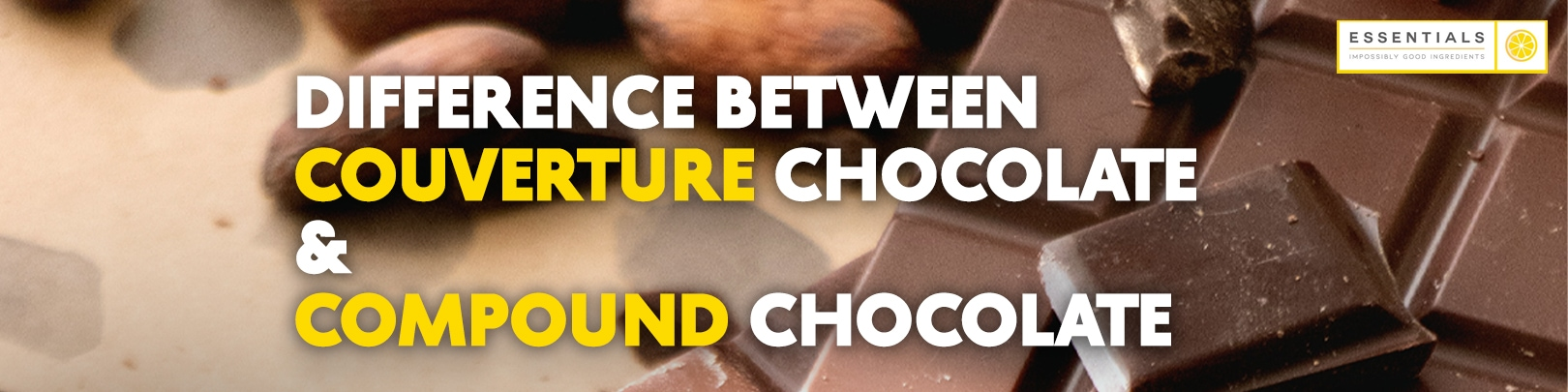 what is the difference between couverture chocolate and compound chocolate